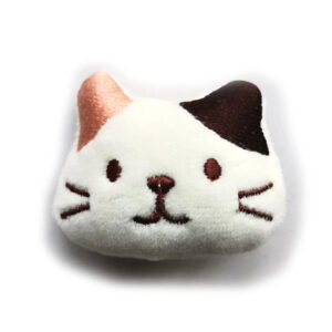 Naszywka Aplikacja głowa kot kotek