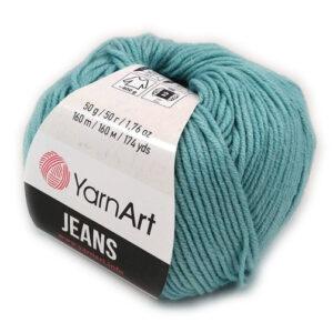 Włóczka YarnArt Jeans 50 g błękit 81