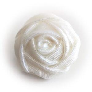 Guziki ozdobne róża 34 mm stopka 1 szt